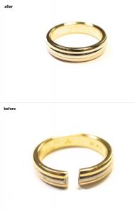 結婚指輪 修理0822